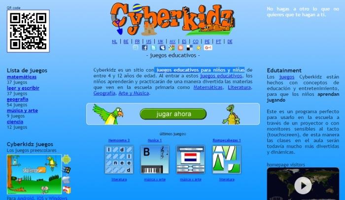 Cyberkidz Juegos Educativos Para Ninos Y Ninas Taller De Las Tics